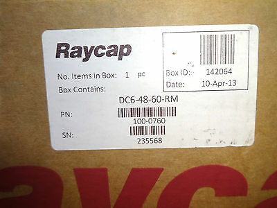 New In Box Raycap Dc6-48-60-Rm Surge Protection System-Device