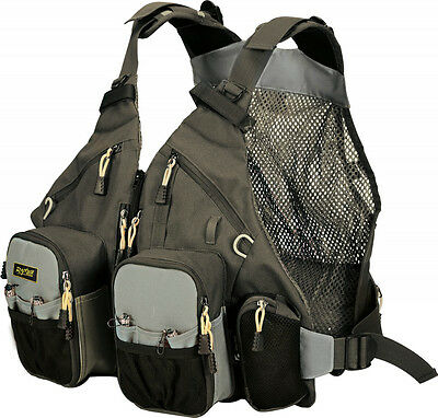 04861080 Gilet Pesca Spinning Rapture Guide Master Pro Tech Pack Trota Bass CSP