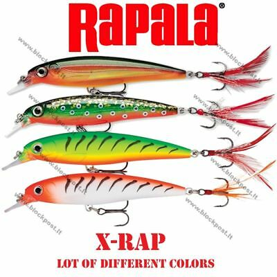 Rapala X-Rap Original Fishing Lure. 10 cm. XR10 BRAND NEW. Different colors