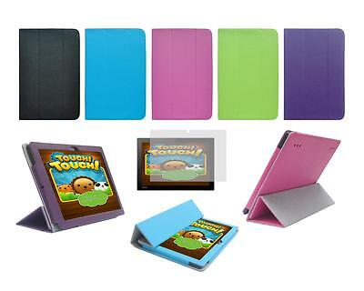 Folio Smart Skin Cover Case and Screen Protector for Kobo Arc 10 HD K110 Tablet