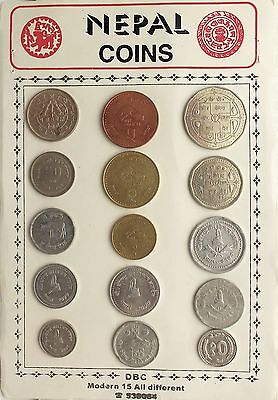 Nepal Modern Coin Collection