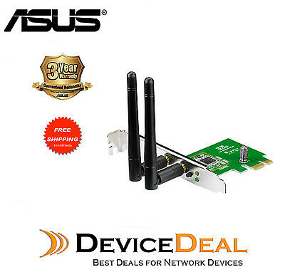 ASUS PCE-N15 N300 PCI-Express Adapter Wireless Card for computer