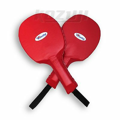 Winning Boxing CM-15 Paddle Punch Mitts, New from Japan