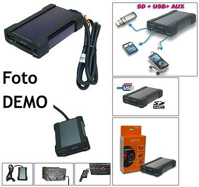 Interfaccia USB MP3 AUX Toyota Corolla Verso Rav4 Yaris Auris Rav 4 +BT ready