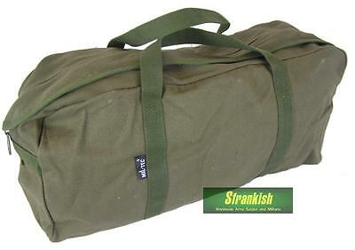 BRITISH ARMY STYLE UTILITY HOLDALL BAG in OLIVE GREEN