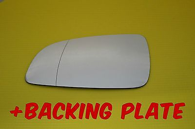Vauxhall Astra H Sxi 2004-08 Wing Mirror Glass  Wide Angle +  Back Plate Left