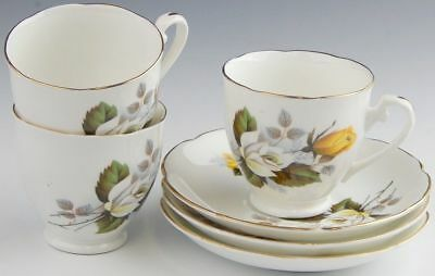 Lot of 3 Royal Grafton #1812 Cup and Saucer Sets EXCELLENT