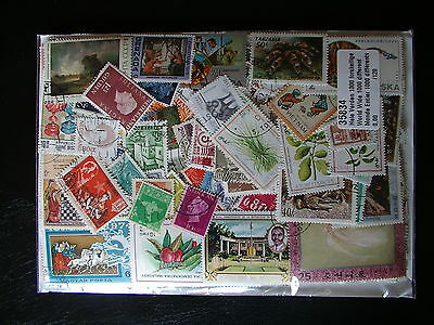 * 3000 Timbres Differents Neufs Et Obliteres Du Monde / Stamps World  *