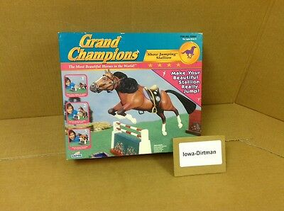 Grand Champions Show Jumping Stallion 50065 New 1998 Horse Play Set Empire