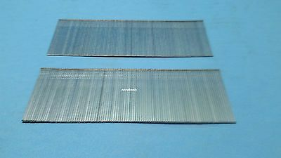"""1 3/4"""" Inch 18 Gauge Chisel Point Galvanized Finish Brad Nails 5,000 Count"""
