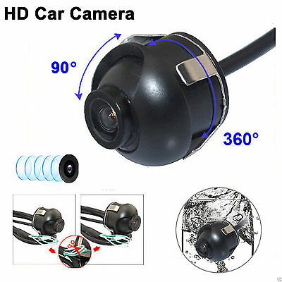 Waterproof Car Rear View Color CMOS Reverse Backup Parking Camera 170 Wide Angle