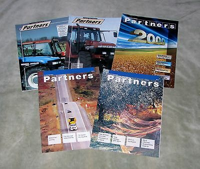 NEW HOLLAND PARTNERS PROMOTIONAL MAGAZINES x5