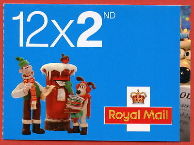 LX39 2010 Wallace and Gromit 12 x 2nd Christmas Booklet