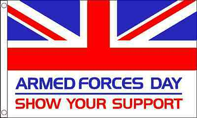 GIZZY® Armed Forces Day 5' x 3' flag