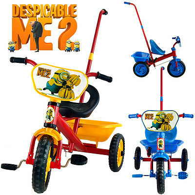Despicable Me 2 Bike Trike Bicycle Tricycle 3 Wheel Car Kid Toddler Ride On Toy