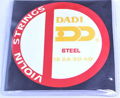 PROFESSIONAL VIOLIN STRINGS steel Extra light 4 string gauge 009-029 G D A E