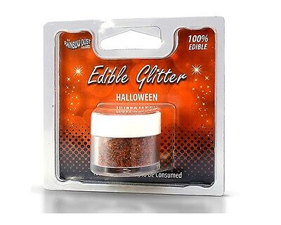 Rainbow Dust Edible Glitter - Halloween 5g, essbares Glitzerpulver