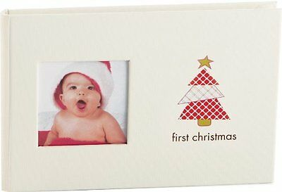Pearhead Baby Brag Book First Christmas Photo Album Holds 24 Photos NEW
