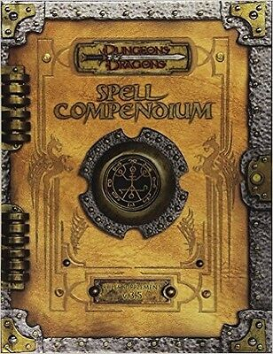 Dungeons and Dragons Premium 3.5 Edition Spell Compendium Hardcover  A35770000