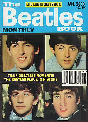BEATLES MONTHLY BOOK 2000 (12x MAGAZINE JANUARY - DECEMBER NR. 285 - 296)