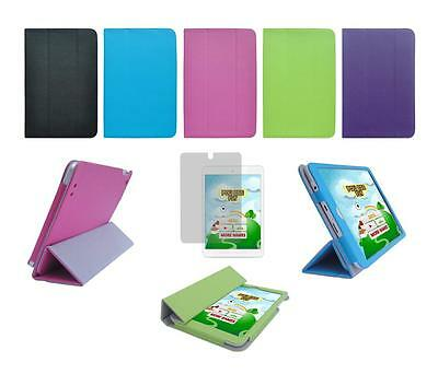 Folio Skin Cover Case and Screen Protector for HP 8 1401 Tablet