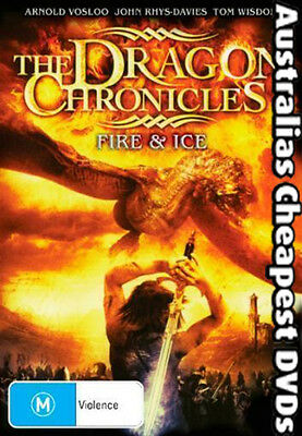 The Dragon Chronicles - Fire & Ice   DVD NEW, FREE POSTAGE IN  AUSTRALIA  REG 4