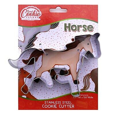 Llama Alpaca Biscuit Mold Cookie Cutter Kitchen Baking Stainless Tool Steel A1Y0