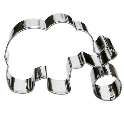 Toy Elephant Cookie Cutter- Stainless Steel