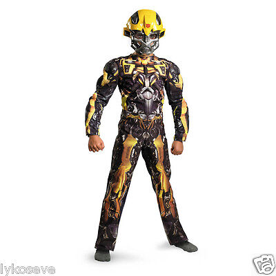 TRANSFORMERS BUMBLE BEE DARK OF THE MOON  MUSCLE COSTUME  lot 79