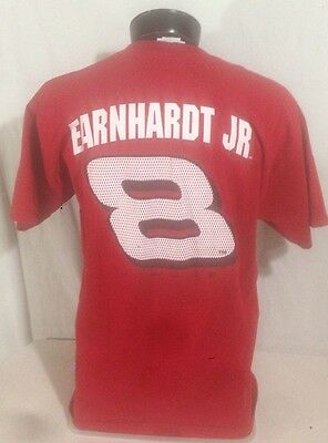 Dale Earnhardt Jr #8 Budweiser NASCAR Mens T-Shirt L Winners Circle