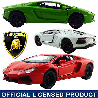 1:38 Lamborghini Aventador LP700-4 DieCast Model Car Kid Pull Back Friction Toy