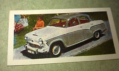 1959 AUSTIN A55 Cambridge   Orig Colour  Trade Card UK