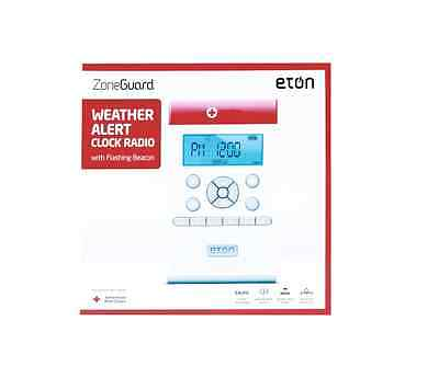 eTON ZONEGUARD ARCZG100W EMERGENCY TORNADO WARNING SAME WEATHER ALERT RADIO NEW