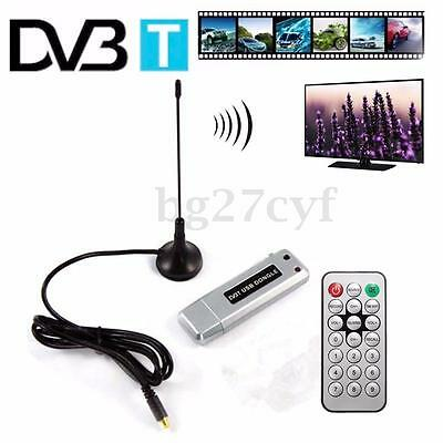 Freeview Digital DVB-T HDTV USB 2.0 Dongle Receiver TV Tuner Recorder Stick PC