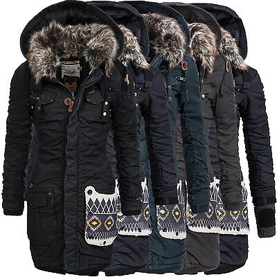 khujo damen wintermantel winterjacke winter mantel jacke parka kapuze chantal eur 99 90. Black Bedroom Furniture Sets. Home Design Ideas