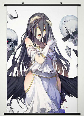 Wall Scroll Poster Fabric Painting For Anime Overlord Albedo 009