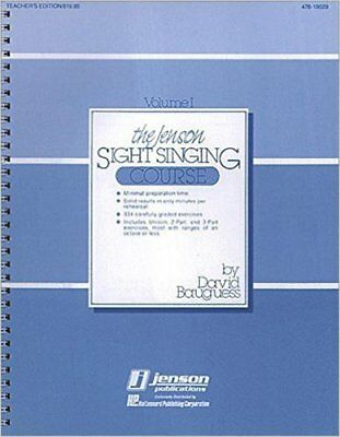 Jenson Sight Singing Course, New,  Book