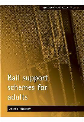 Bail Support Schemes for Adults (Researching Criminal Justice), New, Anthea Huck