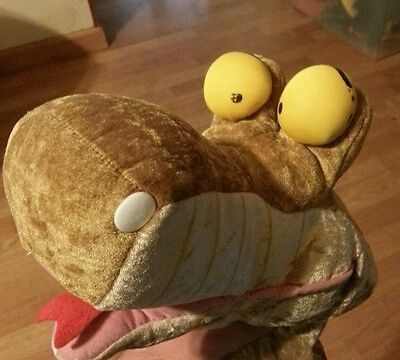 Disney World Store HUGE 57' Kaa Snake Jungle Book Plush Puppet Disney Store
