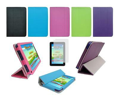 """Folio Skin Cover Case and Screen Protector for Double Power Dopo 7"""" DPA23D"""