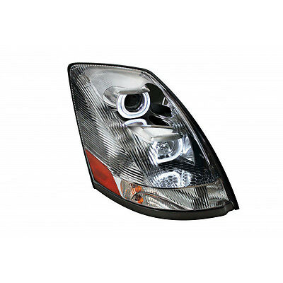 Volvo VN / VNL 2004+ Projection LED Headlight Crystal - Passenger Side