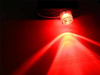 RED Battery Operated LED Flood light for Halloween props and Haunted Houses