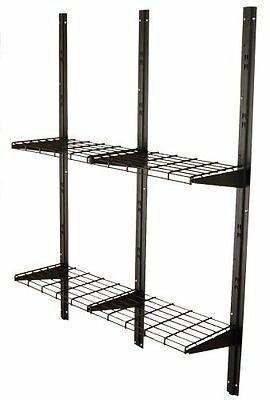 SUNCAST BMSA1S Storage Unit SHELF SYSTEM, Metal GARAGE STORAGE