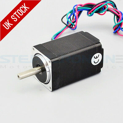Nema 11 Stepper Motor 1.8deg Bipolar 0.67A 12Ncm/17oz.in 28x28x51mm 4-wires DIY