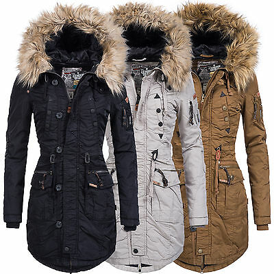 khujo damen wintermantel winterjacke winter mantel jacke parka kapuze claire eur 199 90. Black Bedroom Furniture Sets. Home Design Ideas