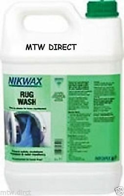 Nikwax Rug Wash 5 Litre Cleaning Waterproofing For Horse