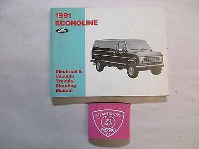 1991 Ford Econoline Electrical & Vacuum Troubleshooting Wiring Service Manual