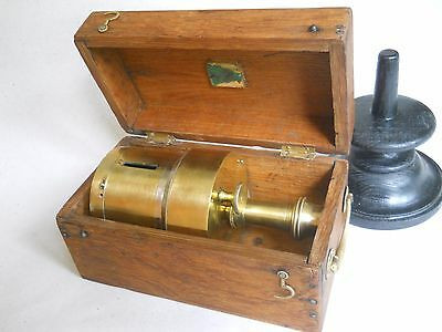 antique geodesy military surveing compass S&L, Societe des Lunetiers