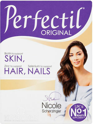Vitabiotics Perfectil Tablets Healthy Skin Hair and Nails 30 Tablets NEW & BOXED