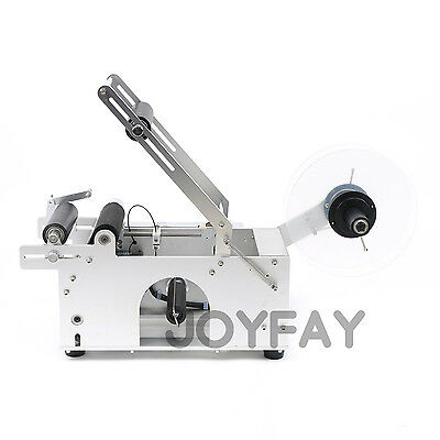 Semi-automatic Round Bottle Labeling Machine Bottle Labeler 20-120mm CE